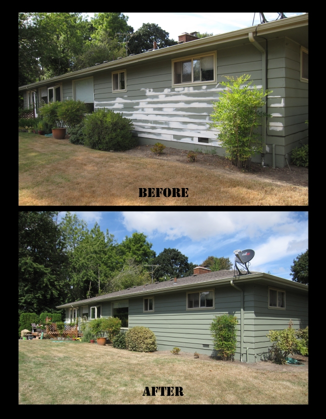 House before after